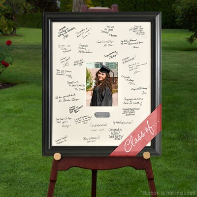 Personalized Gift Laser Engraved Celebrations Graduation Signature Picture Frame