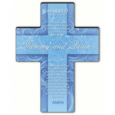 Personalized Gift Twinkling Star Cross Prayer: Marriage Prayer