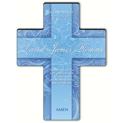 Personalized Gift Twinkling Star Cross Prayer: Holy Spirit Confirmation