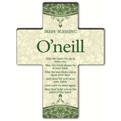 Personalized Gift Classic Irish Cross Blessing: Old Irish Blessing #2