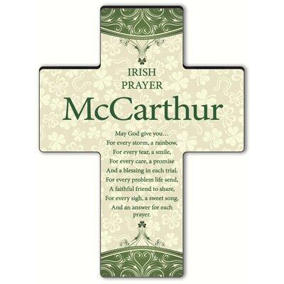 Personalized Gift Classic Irish Cross Blessing: Irish Prayer