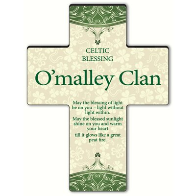 Personalized Gift Classic Irish Cross Blessing: Old Celtic Blessing
