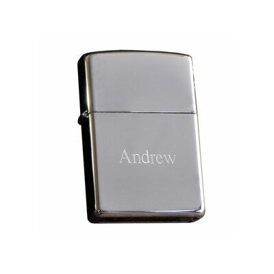 Personalized Gift High Polish Zippo Chrome Lighter