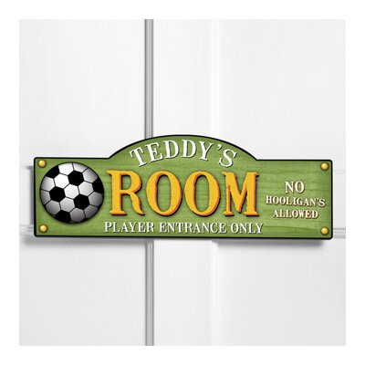 Personalized Gift Kids Room Sign Wall Plaque