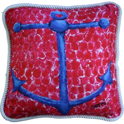 Anchor Throw Pillow