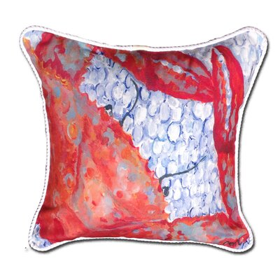 Crab Indoor/Oudoor Throw Pillow
