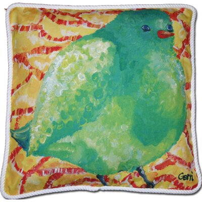 Chadbury Birdie Outdoor Throw Pillow