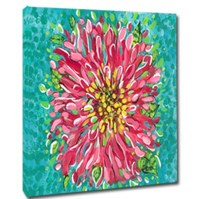 Blossom Mounted by Gerri Hyman Painting Print on Canvas PF2020C