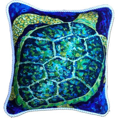 Gulf Gate-Osprey Turtle Indoor/Outdoor Throw Pillow