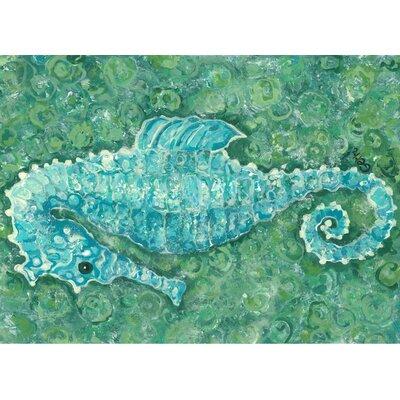 Seahorse Kitchen Mat
