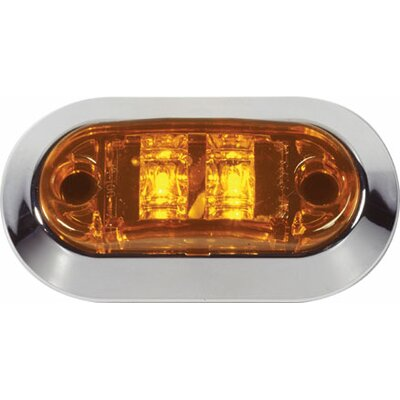 Truck/Trailer Clearance LED Light Color: Red
