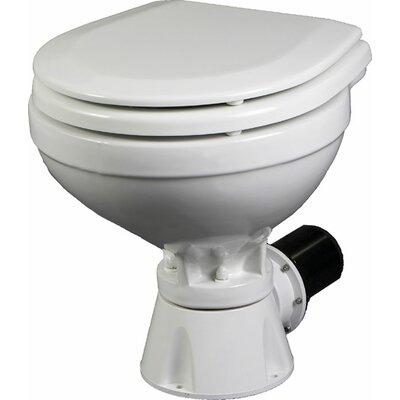 Aqua Jet Compact Silent Electric Marine Round One-Piece Toilet