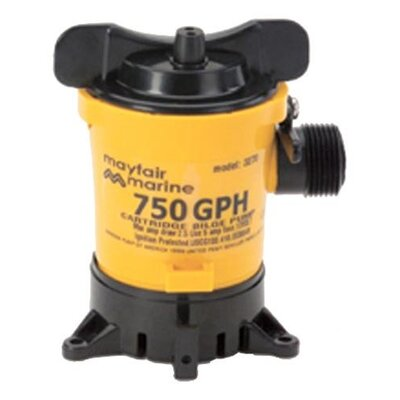 1250GPH Cartridge Bilge Pump GPH: 750