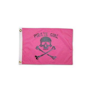 Pirate Heads 'Pirate Girl' Traditional Flag 1801