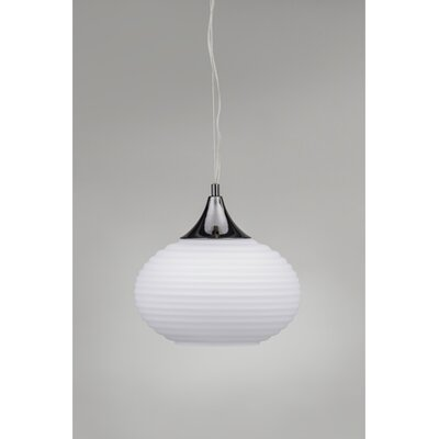 Genie 1-Light Globe Pendant