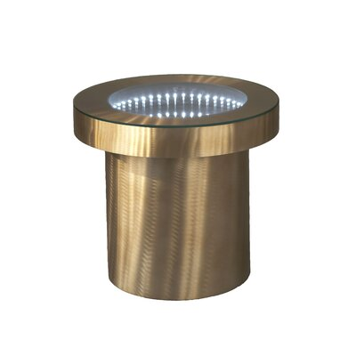 Arencibia End Table Color: Bronze