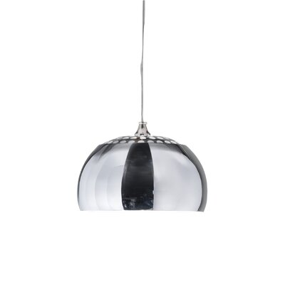 Carlsen 1-Light Bowl Pendant
