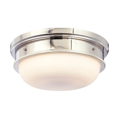 Trumbull 3-Light Flush Mount Finish: Polished Nickel
