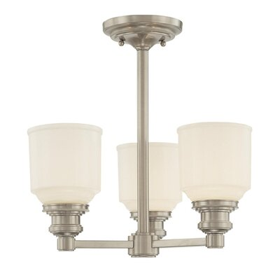 Carnahan 3-Light Pendant Finish: Polished Nickel