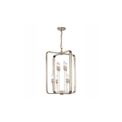 Kolton 8-Light Foyer Pendant Finish: Old Bronze