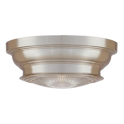 Ellyn 1-Light Flush Mount Finish: Satin Nickel