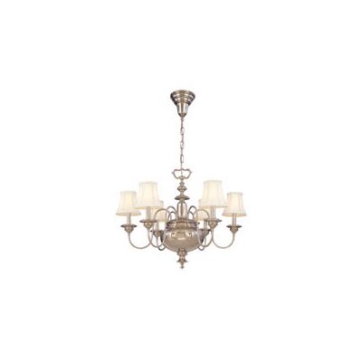 Ellington 6-Light Shaded Chandelier Finish: Old Bronze