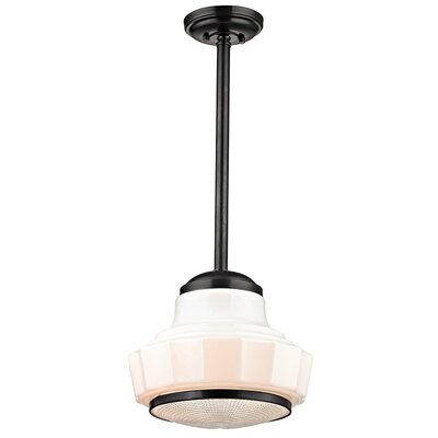 Odessa 1-Light Mini Pendant Finish: Old Bronze, Size: 70.5