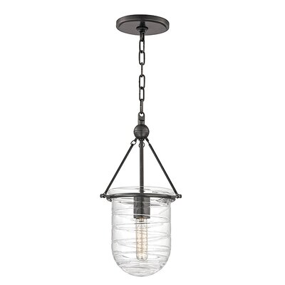 Carn 1-Light Mini Pendant Finish: Old Bronze