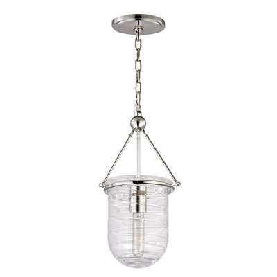 Carn 1-Light Mini Pendant Finish: Polished Nickel