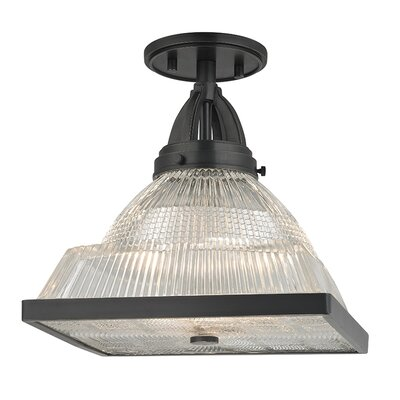 Alene 1-Light Flush Mount Finish: Old Bronze