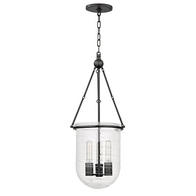 Carn 3-Light Foyer Pendant Finish: Old Bronze