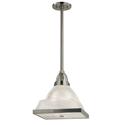 Alene 1-Light Mini Pendant Finish: Satin Nickel