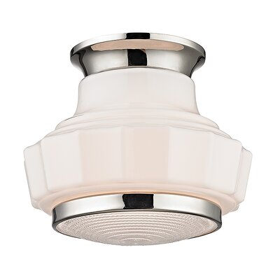 Kobe 1-Light Flush Mount Finish: Polished Nickel