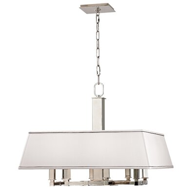 Hornberger 8 Light Pendant Finish: Polished Nickel