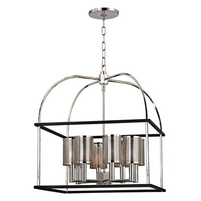 Corbin 8-Light Chandelier Finish: Polished Nickel