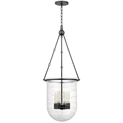 Carn 4-Light Foyer Pendant Finish: Old Bronze