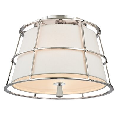 Arika 2-Light Semi Flush Mount Finish: Polished Nickel