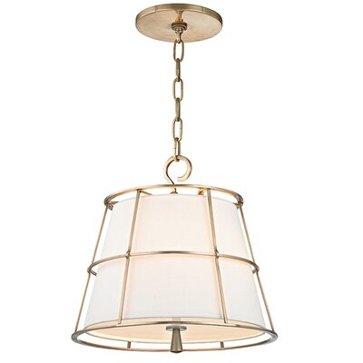 Arika 2-Light Foyer Pendant Finish: Aged Brass