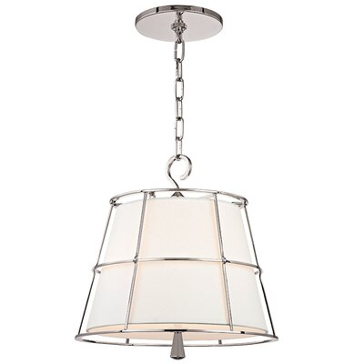 Arika 2-Light Foyer Pendant Finish: Polished Nickel