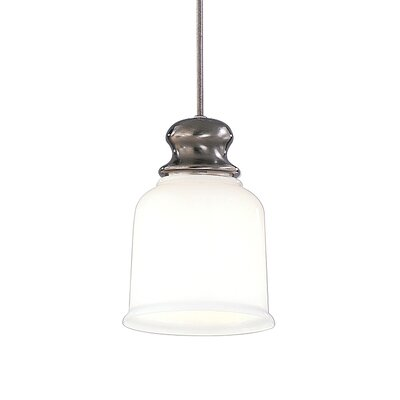Mindy 1-Light Pendant Finish: Antique Nickel