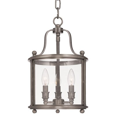 Alene 3-Light Foyer Pendant Finish: Antique Nickel