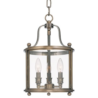 Alene 3-Light Foyer Pendant Finish: Distressed Bronze