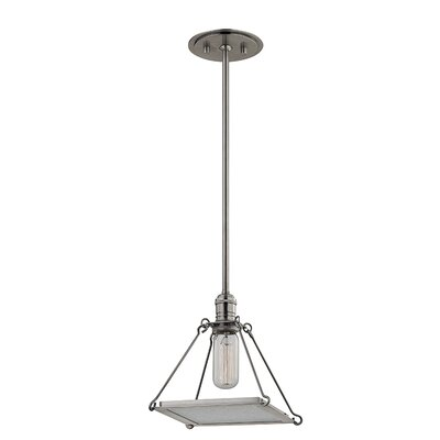 Trevon 1-Light Mini Pendant Finish: Historic Nickel