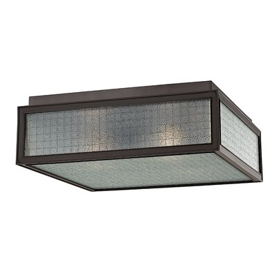 Ellsworth 3-Light Semi-Flush Mount Finish: Old Bronze