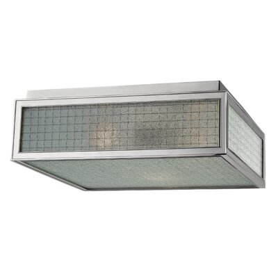 Ellsworth 3-Light Semi-Flush Mount Finish: Polished Nickel