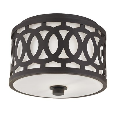 Maspeth 1-Light Flush Mount Finish: Old Bronze