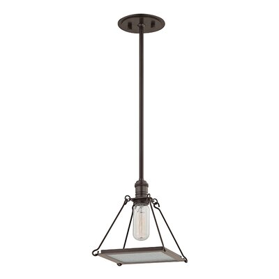 Trevon 1-Light Mini Pendant Finish: Old Bronze