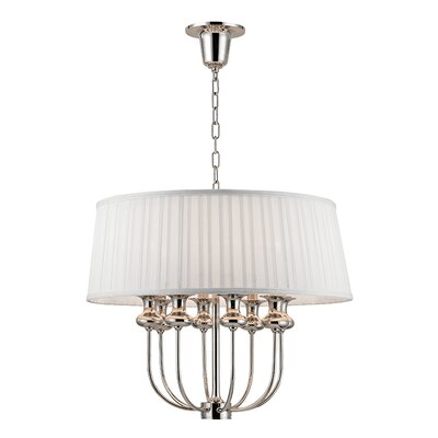 Ellum 8-Light Pendant Finish: Polished Nickel