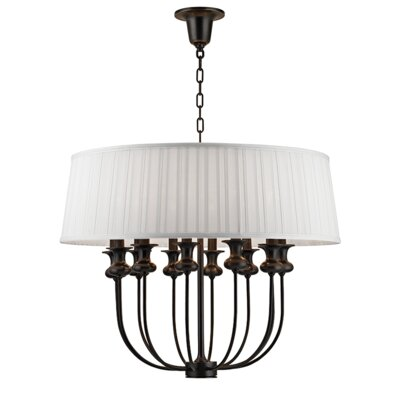 Ellum 12-Light Drum Pendant Finish: Old Bronze