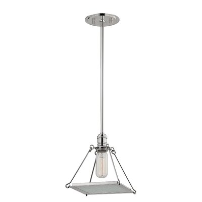 Trevon 1-Light Mini Pendant Finish: Polished Nickel